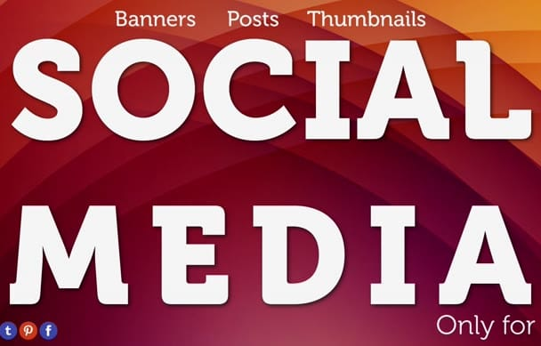 create FACEBOOK banners and all social media designs