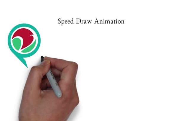 speed draw your logo