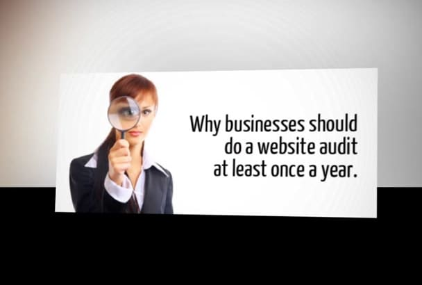 audit your website professionally