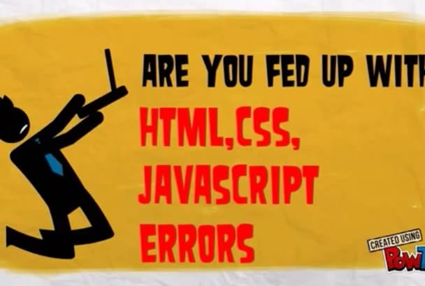 fix any Css,Html,Javascript issues for you