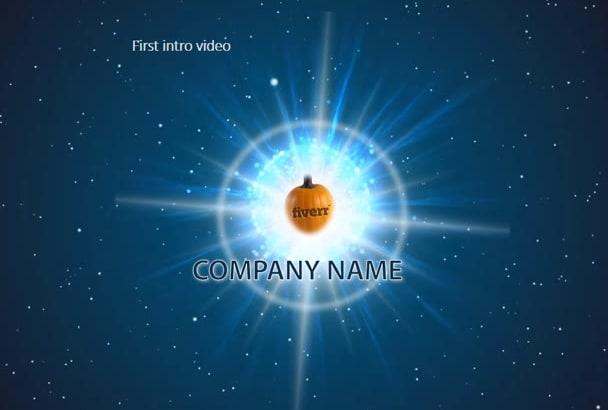create 3 Amazing Logo Animation Video