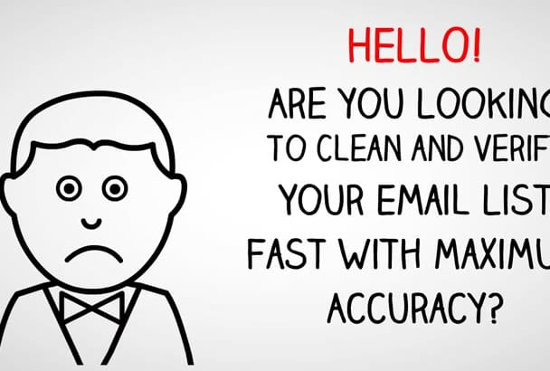 clean and verify 12K Email List in Just One Day
