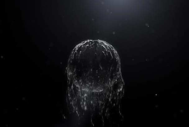 design a Water Splash liquid Logo video intro