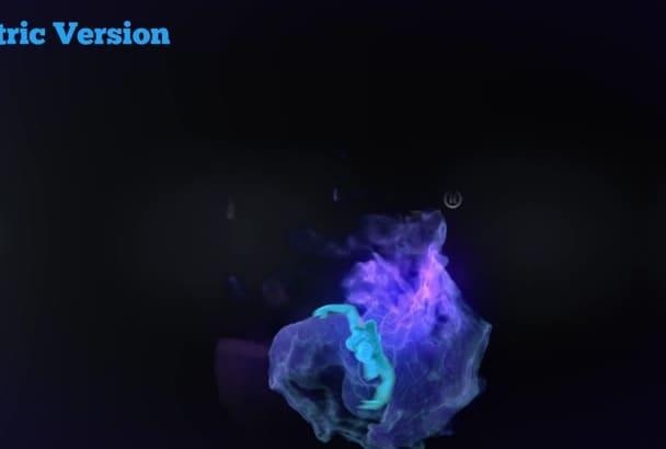 make a Beautiful Dancing Intro Video Reveal Full HD