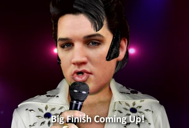 personalize this ELVIS Presley for Birthday Etc