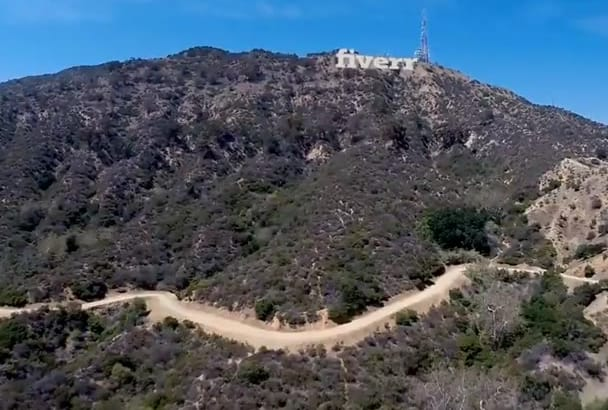 advertise Your Company Name or Website on Hollywood Hills