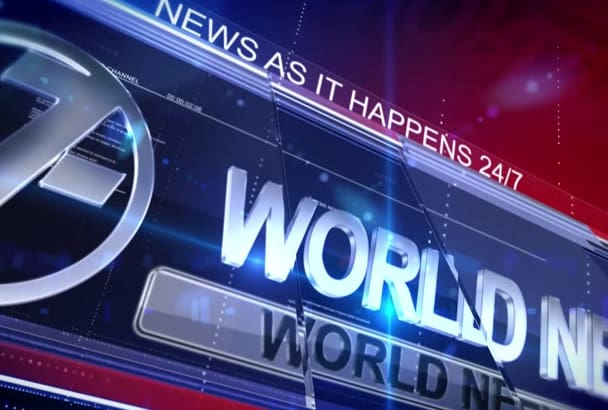 present your World Breaking News VIDEO Commercial