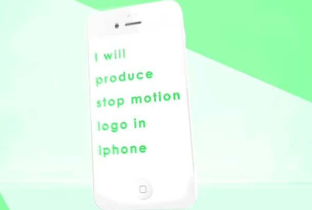 going to produce animated logo video on iPhone