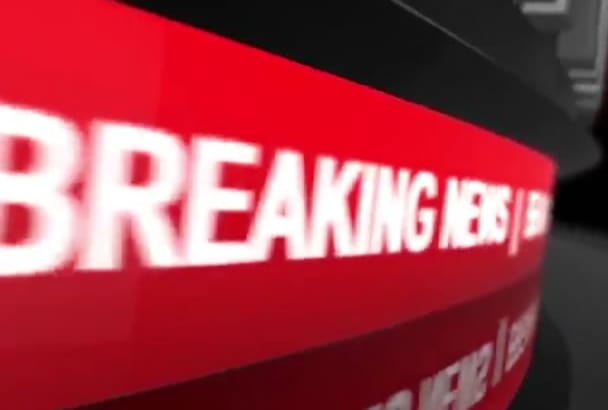 create an amazing Breaking News video in English or Spanish