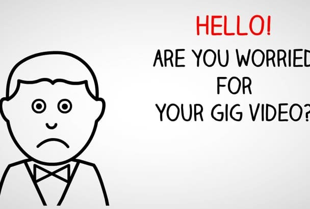 create two explainer video in 2 style for your fiver gig