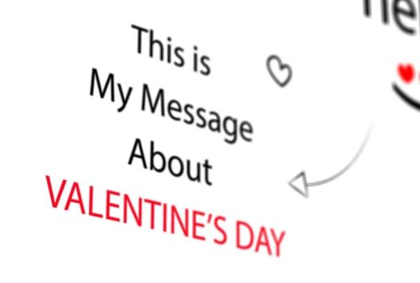 create Lovely Birthday or Valentine Day Video