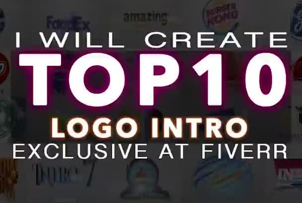 create TOP 10 Amazingly Popular Video Intros