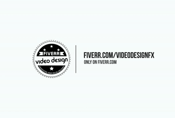 make this clean logo intro video