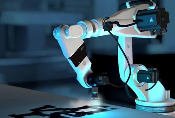 create promotional intro animation logo