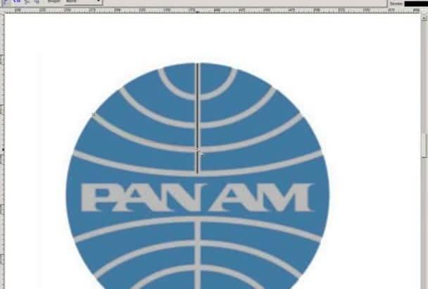 produce a vector art version of your bitmap logo