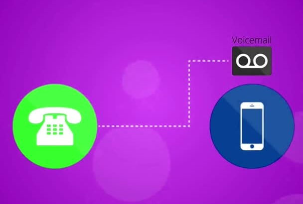 leave voicemail messages for your business leads