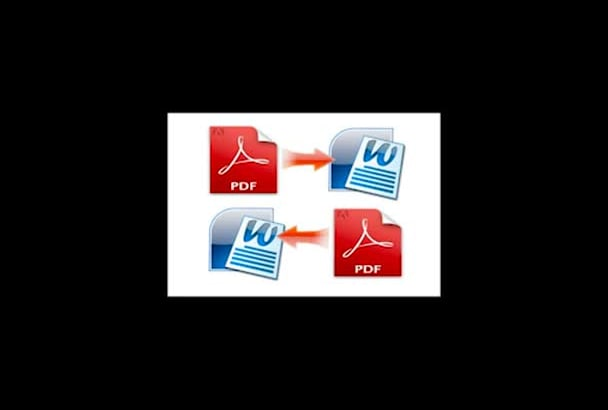 convert word docs to pdf and pdf to word docs
