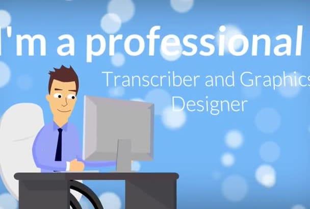 provide quality HQ Transcription service