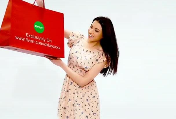 shopping bag promo video HD