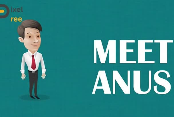 do CHARACTER animation or business promotion video