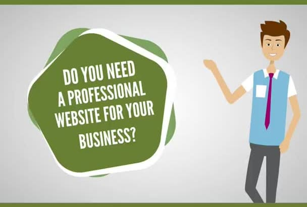 make you a professional website using wix