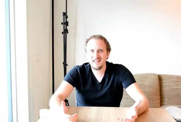 do german Testimonial HD Video