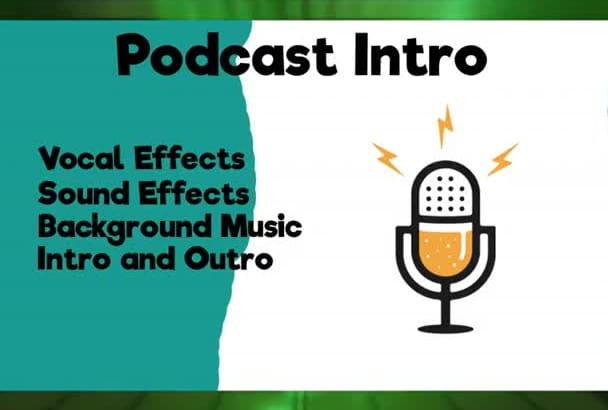 produce An Audio Intro For A Podcast Or Radio Show