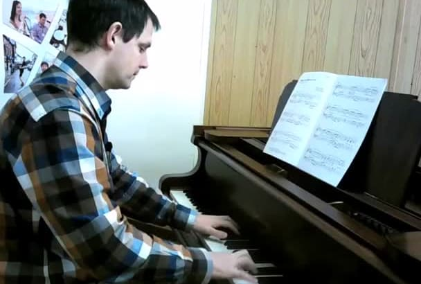 teach you the basics of piano playing