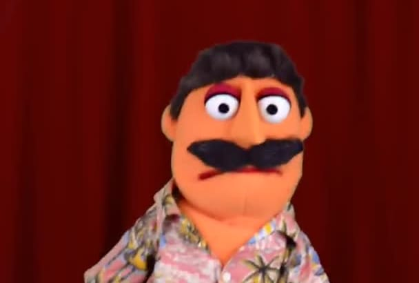 have Bernie the Puppet make a video about anything