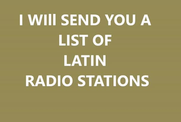 Send in latin