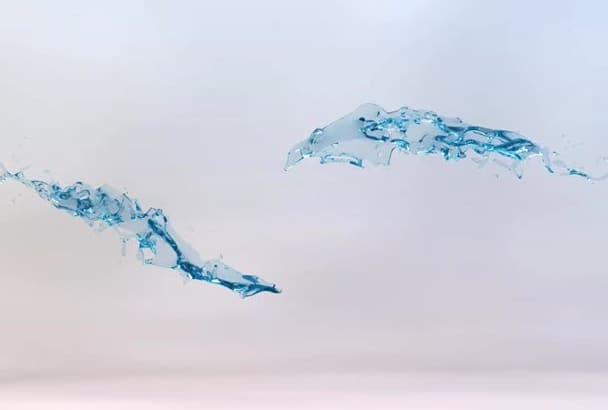 make this stylish unique logo animation