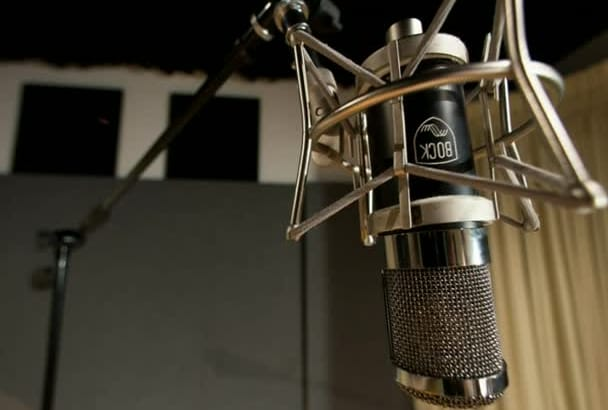 do professional spanish voice over