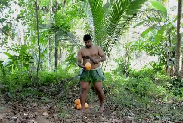 drinking king coconut and find your any message