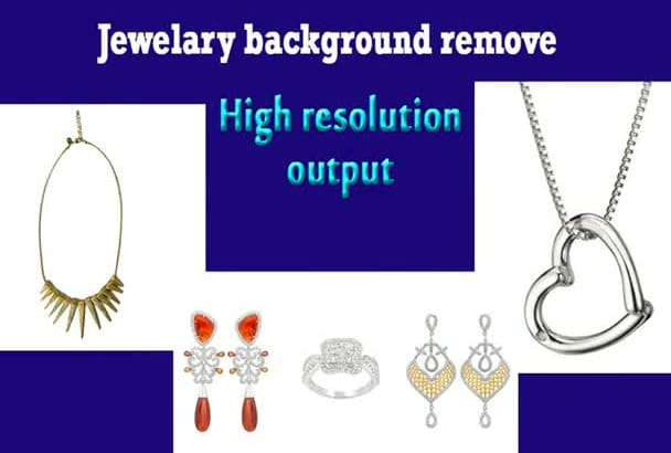 professionally retouch your jewelry images to HD quality