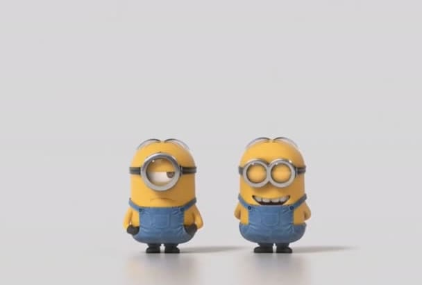 make funny intro with minions