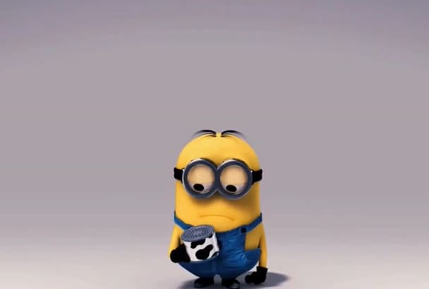 create funny despicable me video in 1 day