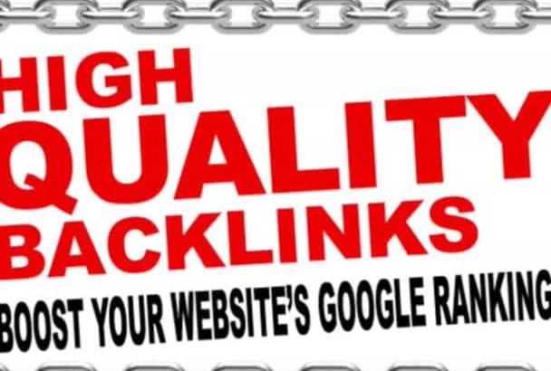 boost Your Website Ranking by creating 25 high PR, Powerfull,dofollow backlinks
