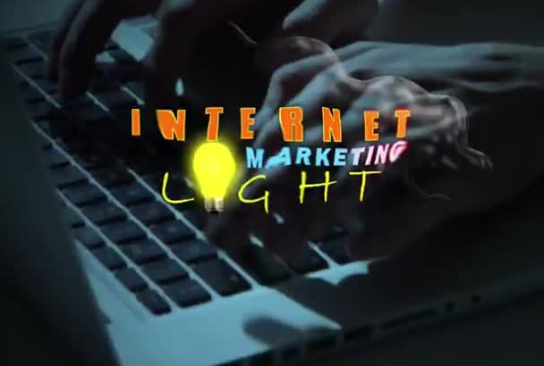 create a cinematic logo intro