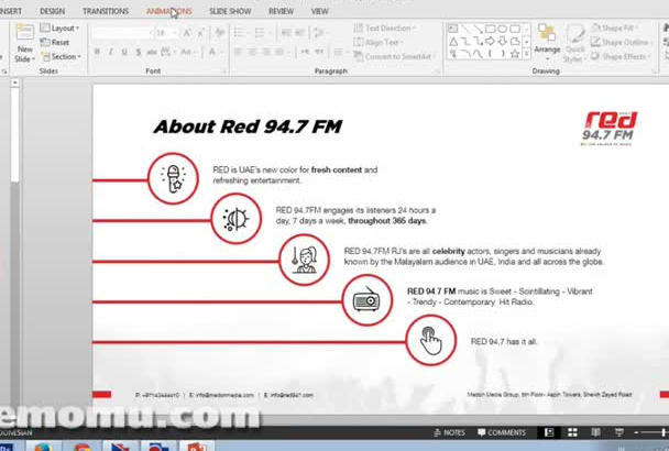 create best ANIMATED Powerpoint ever