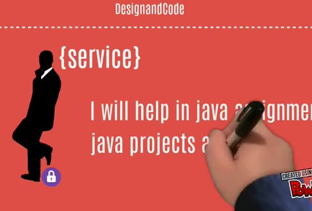 do assignments and Projects in Java, C, CPP