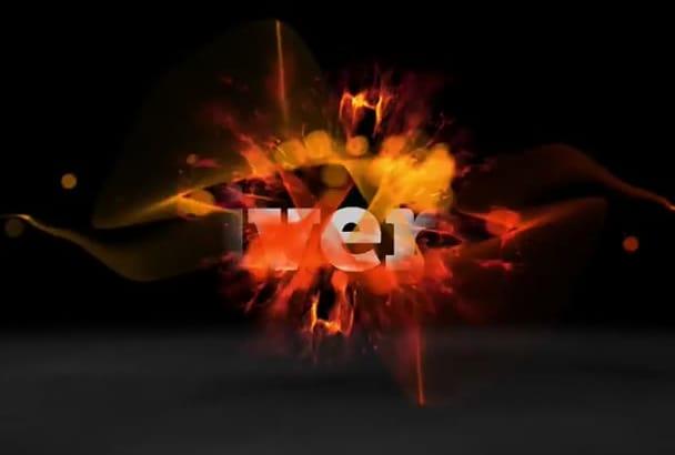 create 6 AMAZING video intro animations