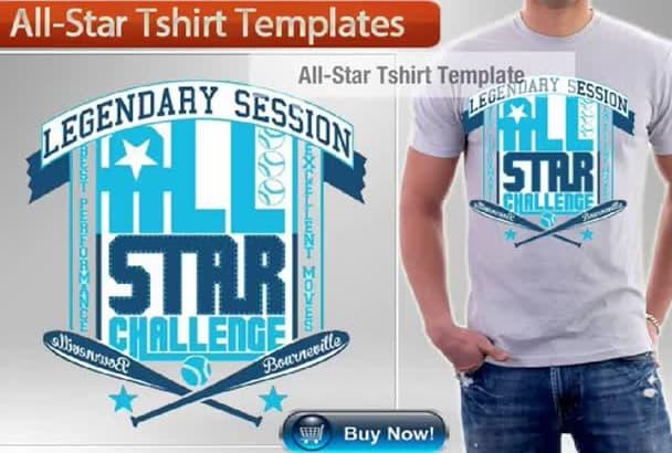 create a stellar graphic tshirt design in 11hours
