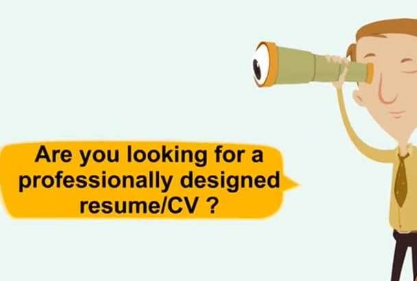 write you a professional resume and or cover letter