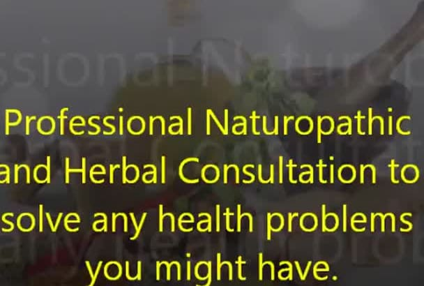 provide EXPERT naturopathic consultation