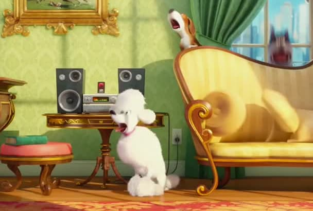 make The Secret Life Of Pets VDO to promote you FullHD 60FPS
