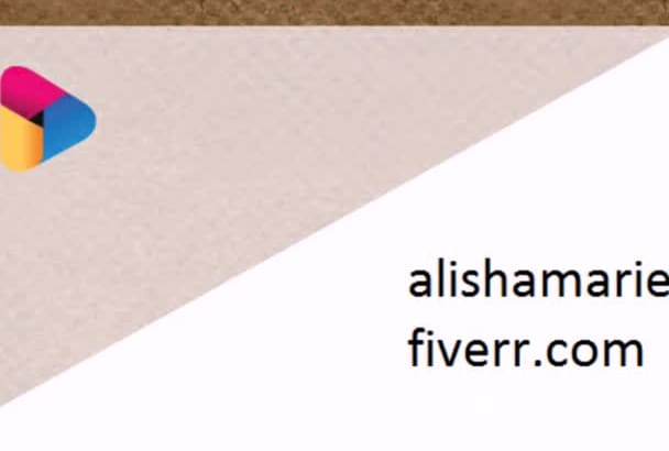 create an amazing  business card