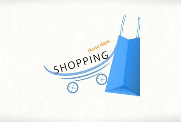 create Shopping Store Promotion Video