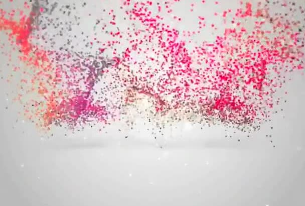 design an AMAZING Particle Intro Video
