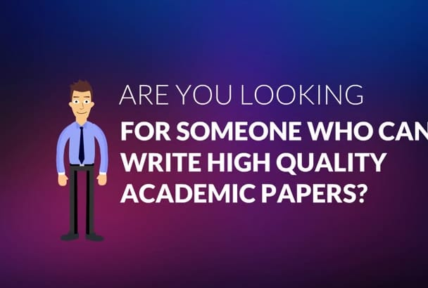 write academic and research papers