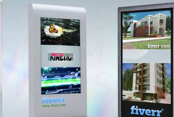 provide your LCD Advertising screen Animation